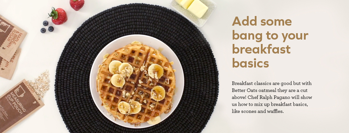 Add some bang to your breakfast basics | banner image