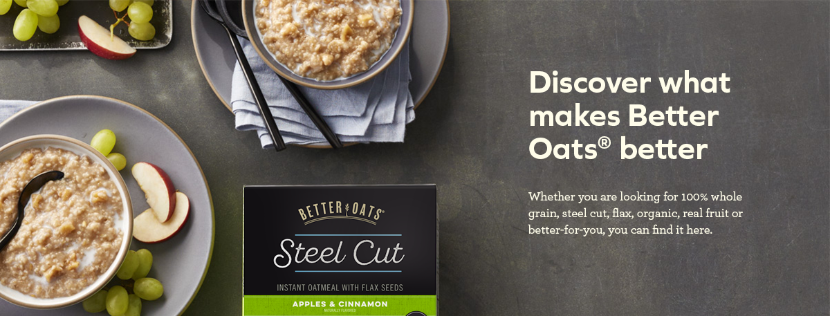 Discover what makes Better Oats better | banner image